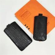 Сумка с язычком (эко кожа)  №1 для Nokia 100/1280/700/2700, черный крокодил