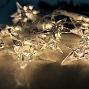 "Perfeo гирлянда светодиодная ""Звёздочка 1"" 10LED, стекло, 1.5м, 2хАА (PF_A4919)"