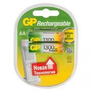 GP AA1300mAh/2BL аккумулятор Пластик (комплект 2 штуки)