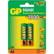 GP AA1800mAh/2BL аккумулятор Пластик (комплект 2 штуки)