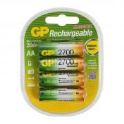 GP AA2700mAh/(3+1)BL аккумулятор Пластик (комплект 4 штуки)