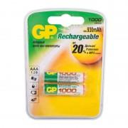 GP AAA1000mAh/2BL аккумулятор Пластик (комплект 2 штуки)