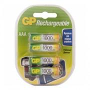 GP AAA1000mAh/4BL ReCyko аккумулятор (комплект 4 штуки)