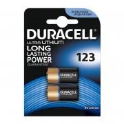 Duracell CR123A/2BL (комплект 2 штуки - цена за 1 шт)