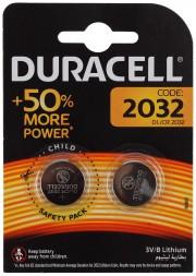 Duracell CR2032/2BL (комплект 2 штуки - цена за 1 шт)