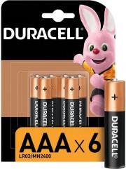 Duracell LR03/6BL MN2400 (комплект 6 штук - цена за 1 шт)