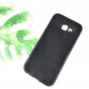 Чехол-накладка для Huawei Honor 20 силиконовый плетеный, черный