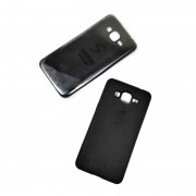 Накладка Silicone case прорезиненная реплика для Samsung G532/J2 Prime, черный