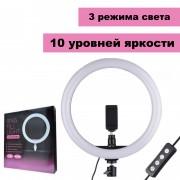 Кольцевая лампа для селфи CXB-260 Ring Fill Light, 26 см (без штатива)