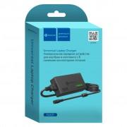 СЗУ для ноутбука NA01 (96W, 12-24V, 5A max, 8 plugs) универсальное DREAM, черный