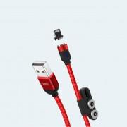 Кабель XO NB128 универсальный 3в1 магнитный, красный