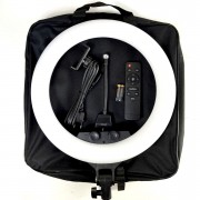 Круговая лампа для селфи ZB-F288, 35 см, + пульт, с сумкой (без штатива)
