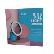 Кольцевая лампа для селфи A380, 37 см (без штатива)