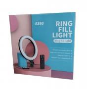 Кольцевая лампа для селфи A390, 37 см + пульт (без штатива)