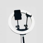 Кольцевая лампа для селфи LC-328, 33 см + пульт (без штатива)