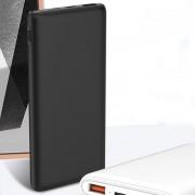 Внешний аккумулятор XO PR-112, 10000 mAh, 2.4A вх/вых, USBx1, QC 3.0+PD, черный