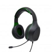 Perfeo игровая гарнитура ACTION 1,8 м, разъем 2 x 3,5 мм (3 pin), черно-зеленый