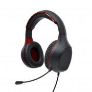 Perfeo игровая гарнитура ACTION 1,8 м, разъем 2 x 3,5 мм (3 pin), черно-красный