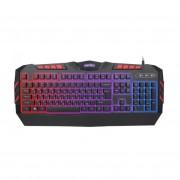 "Perfeo клавиатура ""LEGION"" Multimedia, GAME DESIGN, подсв. 3 цвет USB, чёрн (PF-9220-GM)"