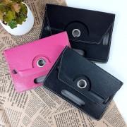 """Универсальный чехол-книжка 360°, 7"""", розовый"""