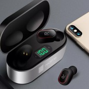 Гарнитура Bluetooth Realme T4, черно-серебристый