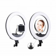 Кольцевая лампа для селфи RL-12, 26.5 см, + зеркало, с сумкой (без штатива)