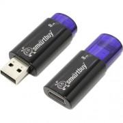 USB  8GB SmartBuy Click series синяя (SB8GBCL-B)