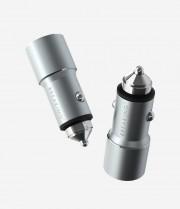Breaking АЗУ C01 1USB + USB-C, QC 3.0, PD 20W, 3A, Steel графит (23130), серый