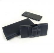 """Кобура для смартфона 5.5"""", искусственная кожа, черный"""