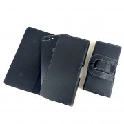 """Кобура для смартфона 4.5"""", искусственная кожа, черный"""