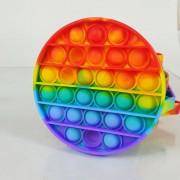 "Игрушка-антистресс Pop It Fidget Push Bubble ""Круг"" (маленький)"