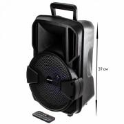 Аудио-колонка JBK 0902S SD micro+USB+micro USB+AUX+Bluetooth, черная
