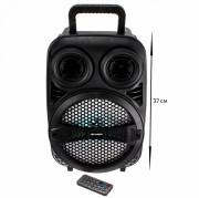Аудио-колонка JBK 0909S SD micro+USB+micro USB+AUX+Bluetooth, черная