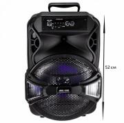 Аудио-колонка JBK 1202 SD micro+USB+micro USB+AUX+Bluetooth, черная
