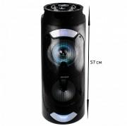 Аудио-колонка JBK 6517 SD micro+USB+micro USB+AUX+Bluetooth, черная