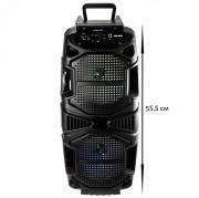 Аудио-колонка JBK 8501 SD micro+USB+micro USB+AUX+Bluetooth, черная