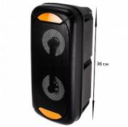 Аудио-колонка JBK 8900 SD micro+USB+micro USB+AUX+Bluetooth, черная