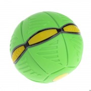 Летающий диск-мяч Flat Ball Disc, зеленый
