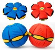 Летающий диск-мяч Flat Ball Disc, красный