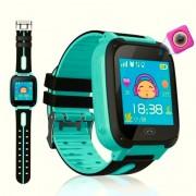Детские Часы Smart G700S, Bluetooth, SIM, GPS, NFC, камера, аккумулятор 400mAh. бирюзовый