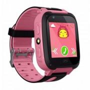 Детские Часы Smart S4- сим-карта/GPS/камера, розовый