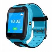 Детские Часы Smart S4- сим-карта/GPS/камера, голубой