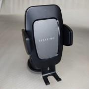 BREAKING Автодержатель для телефона, C8, автоматический с БЗУ, 15W  (26101), черный