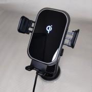 BREAKING Автодержатель для телефона, C13, автоматический с БЗУ, 15W  (26103), черный