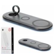 Беспроводное ЗУ VAmobile 3в1 (телефон, AirPods, Apple Watch) (OJD-56), черный
