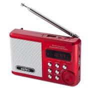 Perfeo мини-аудио Sound Ranger, УКВ+FM, MP3 (USB/TF), USB-audio, BL-5C 1000mAh, красный (SV922RED)