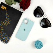 "Чехол-накладка для iPhone 11 Pro Max серия ""Оригинал"" №21, голубой океан"
