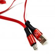 Breaking кабель Micro USB Nylon, 2.4A, длина 1м (21422), красный