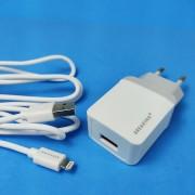Breaking СЗУ 2.4A 1USB + кабель Lighting (22210), Белый