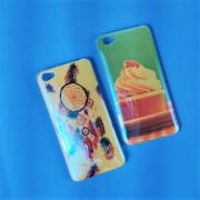 Чехол-накладкa для iPhone X/XS, Blue Shine силиконовый